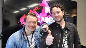 musikerna fredrik furu och jimmy westerlund