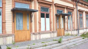 Gamla stationshuset i Borgå.