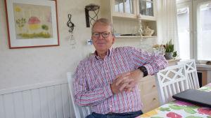 Jan Lindholm är ordförande för Företagarna i Raseborg.