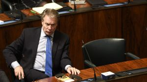 Ilkka Kanerva i riksdagen