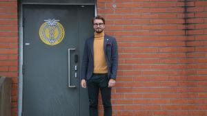 Juuso Aaltonen, styrelseordförande för Vasa universitets studentkår