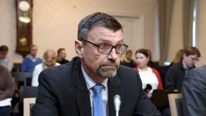 Riksåklagare Matti Nissinen i rättssalen