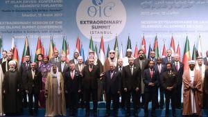 Den muslimska samarbetsorganisationen OIC höll krismöte