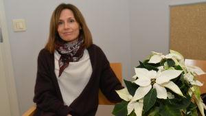 Charlotte Lindh är chef för småbarnspedagogik i Raseborg.