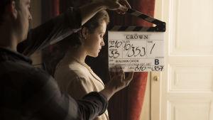 Claire Foy i Netflix-serien The Crown