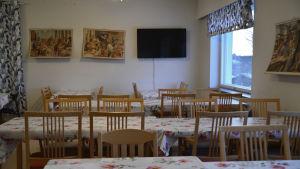 En matsal i från Johannisberg i det kommande håtellet Hotel Easy Stay