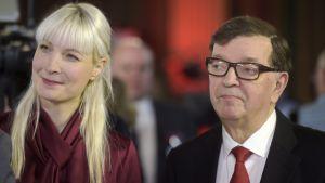Laura Huhtasaari och Paavo Väyrynen.