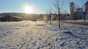 Vinter i Kimitoön.