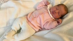 Prinsessan Madeleine och Christopher O'Neills dotter föddes 9.3.2018.