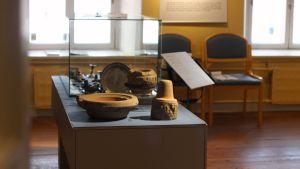 Utställning i Lovisa museum.