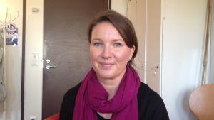 Anne Salovaara- Kero, regionkoordinator för organisationen Fri från narkotika.
