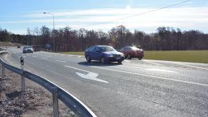 Stamväg 51 i Pickala i Sjundeå.