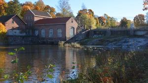 Här ska fiskvägarna byggas i Billnäs bruk.
