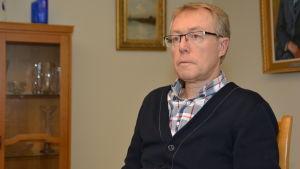 Lasse Tallqvist är kanslichef i Hangö.