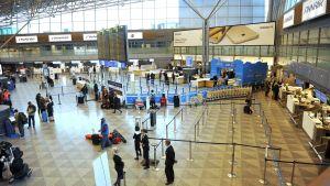 Helsingfors-Vanda flygplats den 7 mars 2017