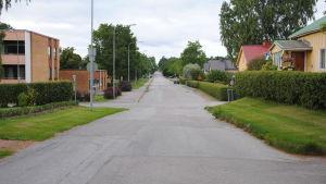 Flemingsgatan i Ekenäs är en av ortens huvudleder döpt efter Erik Fleming