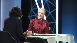 Laura Huhtasaari, presidentkandidat 2018