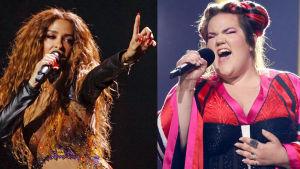 Eleni Foureira och Netta Barzilai.