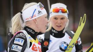 Mari Laukkanen är Finlands nästbästa skidskytt på damsidan.