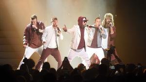 Backstreet Boys på scen.