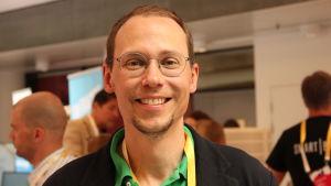 Niklas Talling är förvaltningsdirektör på Samfundet Folkhälsan.