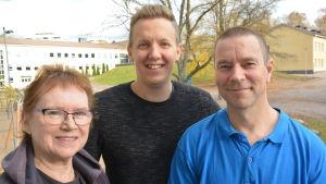 Ingeborg Spiik, Samuel Karlsson och Svante Karlsson