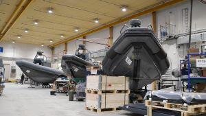 RIB-båtar hos Boomeranger boats i Lovisa