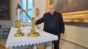 Tor-Erik Store, tf kyrkoherde i Kvevlax församling