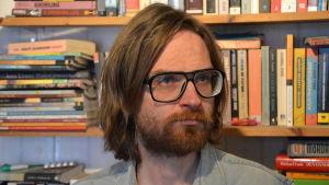Författaren och poeten Bosse Hellsten