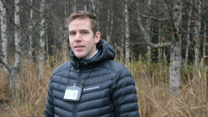 Mikael Appel från polisen i Österbotten.