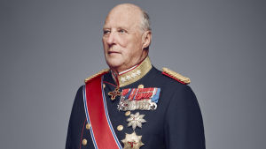 Norges kung Harald.