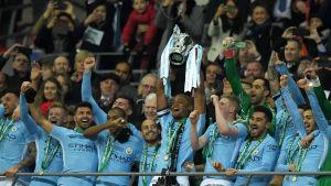 Manchester City vann engelska ligacupen.