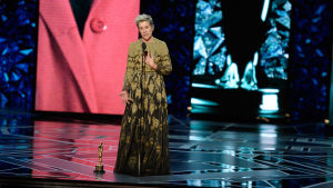 Frances McDormands tacktal under galan hyllade arbetande kvinnor i Hollywood.