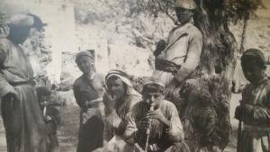 Pojkar i den palestinska byn Artas i början av 1900-talet.