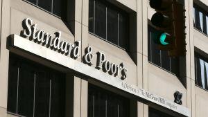 Kreditvärderingsinstitutet Standard & Poor's.