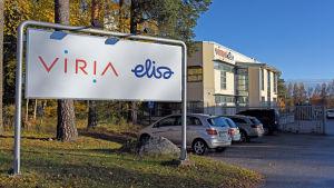 Företaget Virias huvudkvarter i Vasa.