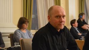 Vänsterförbundets fullmäktigeledamot Timo Itälehto i Jakobstad