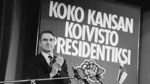 President Mauno Koivisto år 1981.