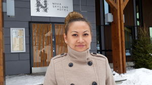 Tian Zhang, vice VD för Nova Skyland Hotel