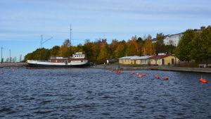 Fiskstranden i Vasa.