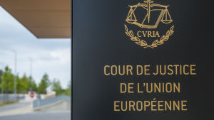 Europadomstolen i Luxemburg.
