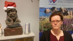 Chefläkare Pia -Maria Sjöström vid Malmska sjukhuset i Jakobstad