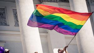 Helsinki Pride 2016 sateenkaarilippu