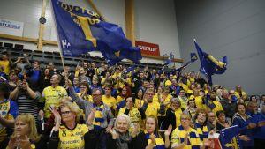 Lovisa Tor-fans på cupfinal.