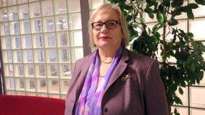 Helvi Riihimäki, direktör för arbets- och näringsbyrån i Österbotten.