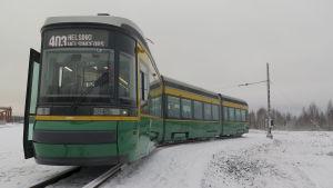 Helsingfors nya spårvagnar pressbild 19.11,2015