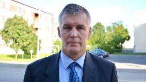 Risto Lammi, polischef i Österbotten.