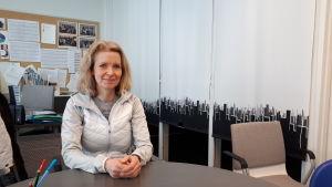 Studiehandledare Annika Wiklund.