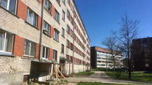 Ett socialhus i Riga