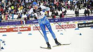 Hemma-VM blev Matias Strandvalls svansång som elitskidåkare.